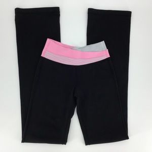 lululemon Astro Pant Black, Pink, and Grey Tall, 4